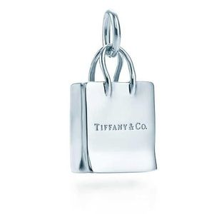 Tiffany & Co. Sterling Silver Shopping Bag Charm!!